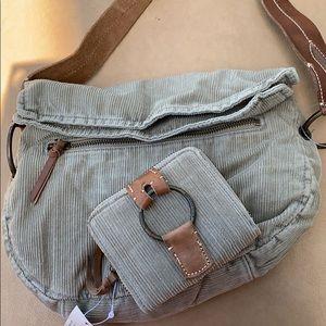 NWT American Eagle handbag & wallet khaki